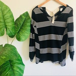 Anthropologie | Striped Long sleeve